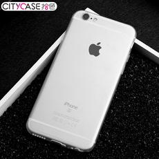 CITYCASE iphone6手机壳6s超薄磨砂透明全包硬壳苹果6plus手机壳