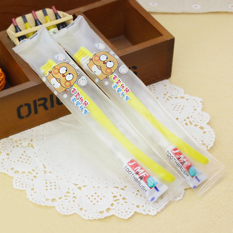 酒店宾馆出差旅行一次性用品一次性牙具便携牙刷牙膏组合洗漱套装