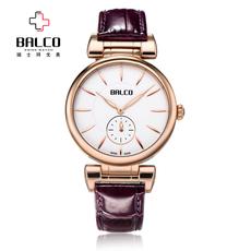 正品BALCO拜戈 瑞士手表 女士 真皮石英表时尚潮流女表BL2010511