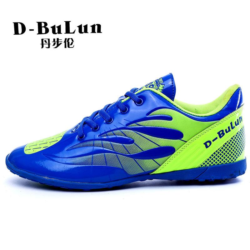 D-BuLun/丹步伦青少年训练鞋2016春季新款儿童男女碎钉足球鞋