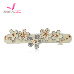River clip headgear top Korea acrylic hair clip flower cross water bit clip spring clip Korean hair accessory jewelry
