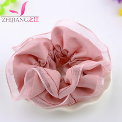 Zhijiang capitatum Korea head cloth mesh hair accessories hair band elastic ropes made by Japan and South Korea to rope
