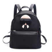 Ou Xuan female Korean summer Galeries Lafayette small backpack canvas bags leisure bags nylon backpack