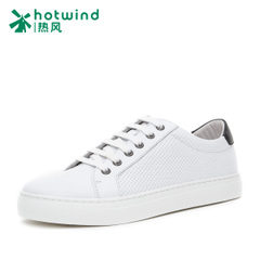 Hot spring of 2016 new trends fashion shoes men's shoes casual shoes of Korean students little white shoes H13M6102