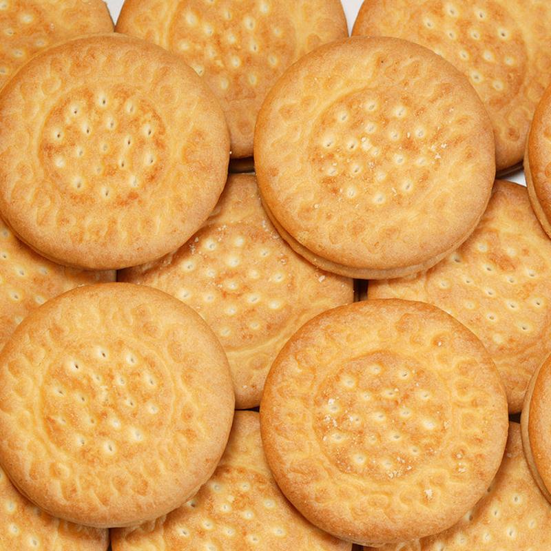 1份210克 三牛椒盐酥饼干 咸味饼干 木糖醇 3份630克 包邮