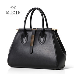 American city spring 2015 new retro mobile Europe female lizard grain cowhide casual shoulder bag