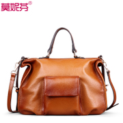 Western leather women bag handbag new 2015 fall/winter women's shoulder bag handbag Messenger Bag Handbag bag