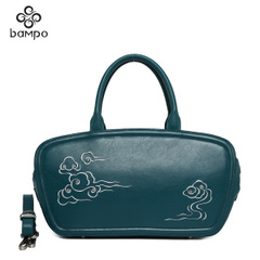 Banpo decorated leather 2015 market with the first layer of leather peoples ' wind eye satchel shoulder bag