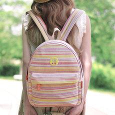 日韩软妹帆布双肩包女韩版少女迷你潮书包原宿风学生旅行小背包包