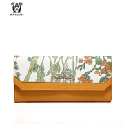 Ms Wan Lima 2015 fall/winter new fashion mosaic color long wallet wallets purse with a female purse