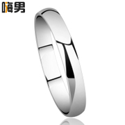 Quality! Korean fashion jewelry 925 Silver ring men personality pinky ring single ring