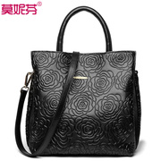 Lady bag 2015 new fall/winter woman women women's Crossbody handbag leather large baodan shoulder bag surge