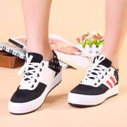 Increased clearance specials star low in the thick-soled platform spell color with tendon canvas girls shoes at the end of the tide