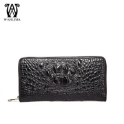 Wanlima/million 2015 new men's clutch bag leather crocodile men's hand bag
