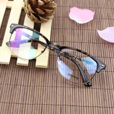 复古近视眼镜架 全框眼镜框 板材金属豹纹潮款 光学配镜男女大框