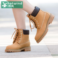 Hot air 2015 series with round head Martin fall/winter boots women''''''''s wave of British women boots 65H5911
