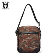 Wanlima/million 2015 new products for fall/winter men's leisure shoulder Messenger bags man bag Messenger bag Camo tide