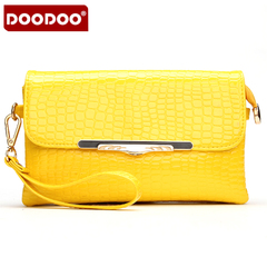 Doodoo autumn baodan fine hand shoulder-slung small packets of Korean leisure fashion clutch bag dual clutch