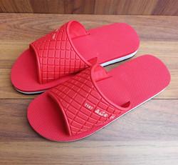 新款晶安女款拖鞋一字浴室拖鞋室内家居女拖鞋老年人轻便拖鞋