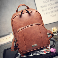 Beauty about fall 2015 the new trend of the Korean version of simple backpack school bag backpack bag bag women bags