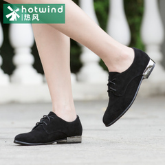 Hot elegant shoes women shoes spring and autumn the first layer of sheepskin with soft lace casual shoes 61H5786