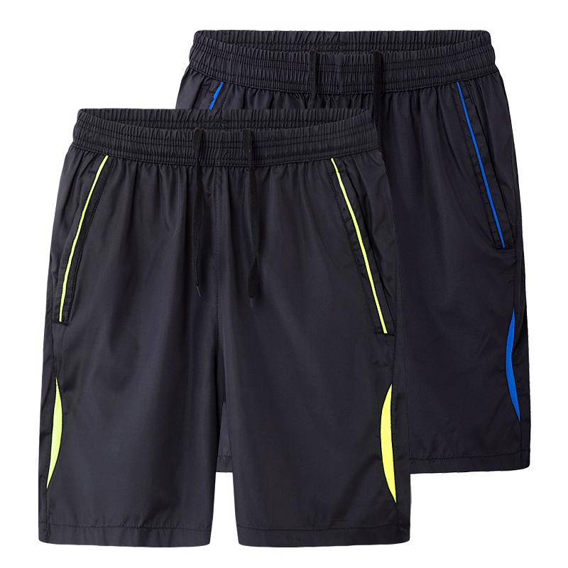2017夏季新款男士休闲短裤 宽松薄款沙滩裤大码运动五分裤男 潮