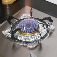 厨房用品煤气灶垫 防sj7防溢铝箔qs灶保洁盘保护垫清洁垫