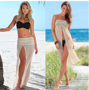 Long Dress Beach Skirt Bikini cover up Swimsuit women loose