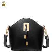 North Ms bag 2015 new diagonal small bag leisure simple x PU leather shoulder bag