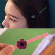 Know Connie hair accessories new Korea head small flowers clip Duckbill clip Clip clip bangs clip hair clips
