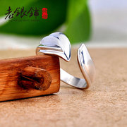 Korean fashion for men and women shop old Silver 925 Silver ring couple ring silver ring original personality men''s domineering