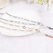 Email Korean female necklace long chain necklace fashion decoration Korea clothes accessories Joker accessories