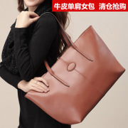 Ousson/Ou Xuan clearance specials leather shoulder bag commute bag simple fashion bag