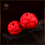 Bulk beads natural cinnabar cinnabar Lotus Lotus beads beads DIY distribution Bodhi son hands dingzhu waist beads