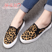 Yalaiya new shoes platform feet lazy Shoes Sneakers girl Korean version followed by a pedal-free shoes