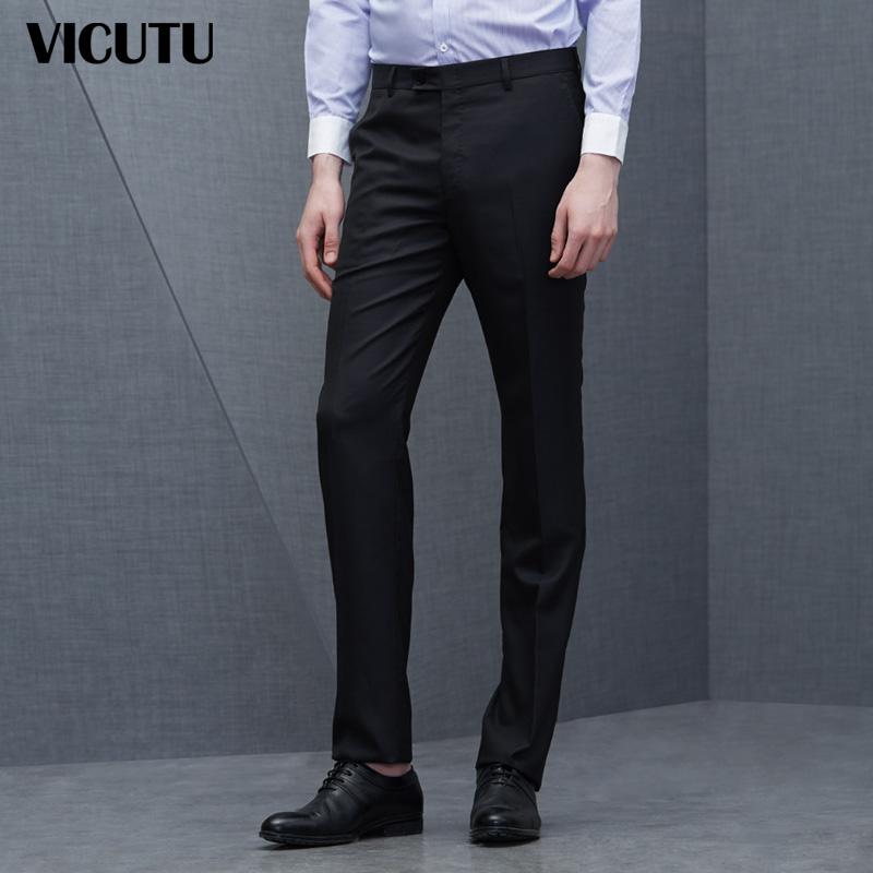 商务正装舒适羊毛套装西裤VBS13121215