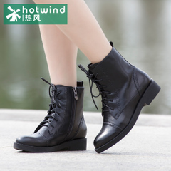 Hot winter Brock carved tide girls boots ankle boots shoes UK wind Martin short tube 75H5988