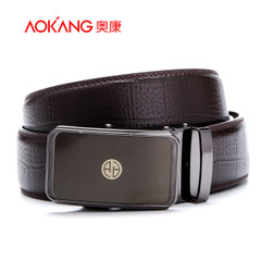 Aucom men's business fashion Joker Belt Belt Belt Belt fashion authentic