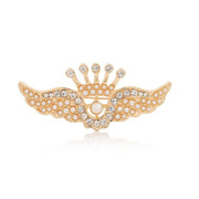 Love mail Korea jewelry Korean Angel brooch fashion Crown rhinestone brooch pin