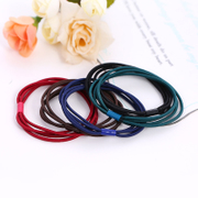 Know NI Korea tiara hair accessories hair band hair rope Korean string jewelry leather aprons and fresh hair bands