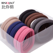 More seamless string in bold hair accessories Korea looped rope rubber band card issuers tie elastic head jewelry