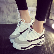 2015 new Japanese Princess Ting Qi breathable shoes tidal shoes women head car shoes cake heavy bottom low cut shoes
