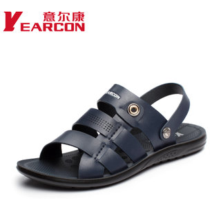 YEARCON/er Kang summer styles men's shoes men's Sandals men daily leisure Sandals Roman shoes wave