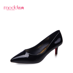 Name code 2015 new sets of shallow pointed stiletto heeled shoes spring/summer fashion female foot shoes work shoes