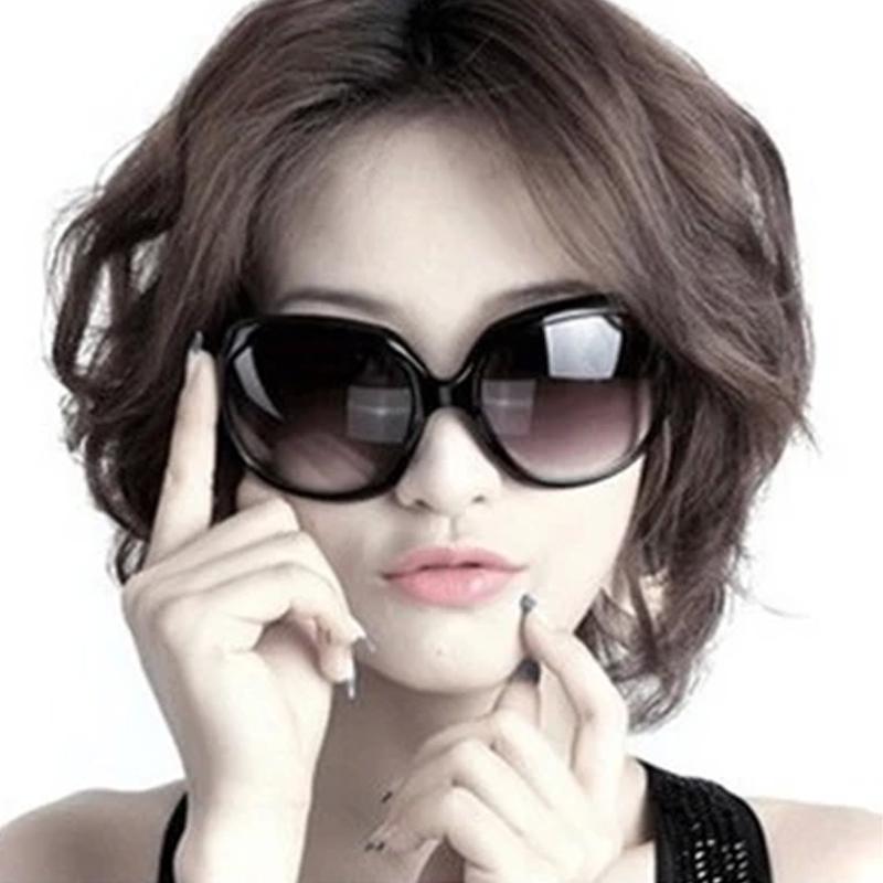 太阳镜女明星款2019大框蛤蟆镜女士墨镜潮防紫外线太阳眼镜