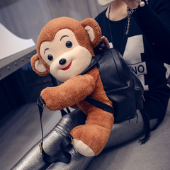 United States around 2015 winter new Korean version of the cartoon shoulder bags fashion backpack bag bag women bags