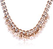 Mail compose good jewelry Korea women fashion Joker short clavicle sparkling rhinestone necklaces short women