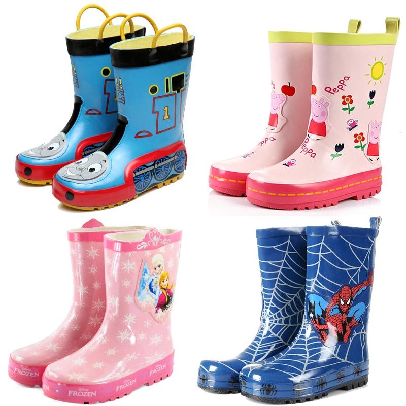 冰雪奇缘公主儿童雨鞋女童防滑水鞋宝宝雨靴小孩套鞋韩国胶鞋包邮
