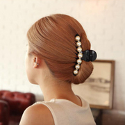 Jewelry Korea hair accessories hair clip cute Korean tiara hair clip Pearl Queen made scratch clamps vertical clamp