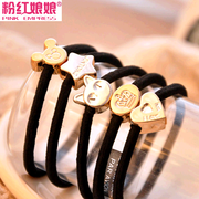 Butterfly pink metal Crown Empress jewelry authentic Korean love knot band/hair/hair accessories hair flowers